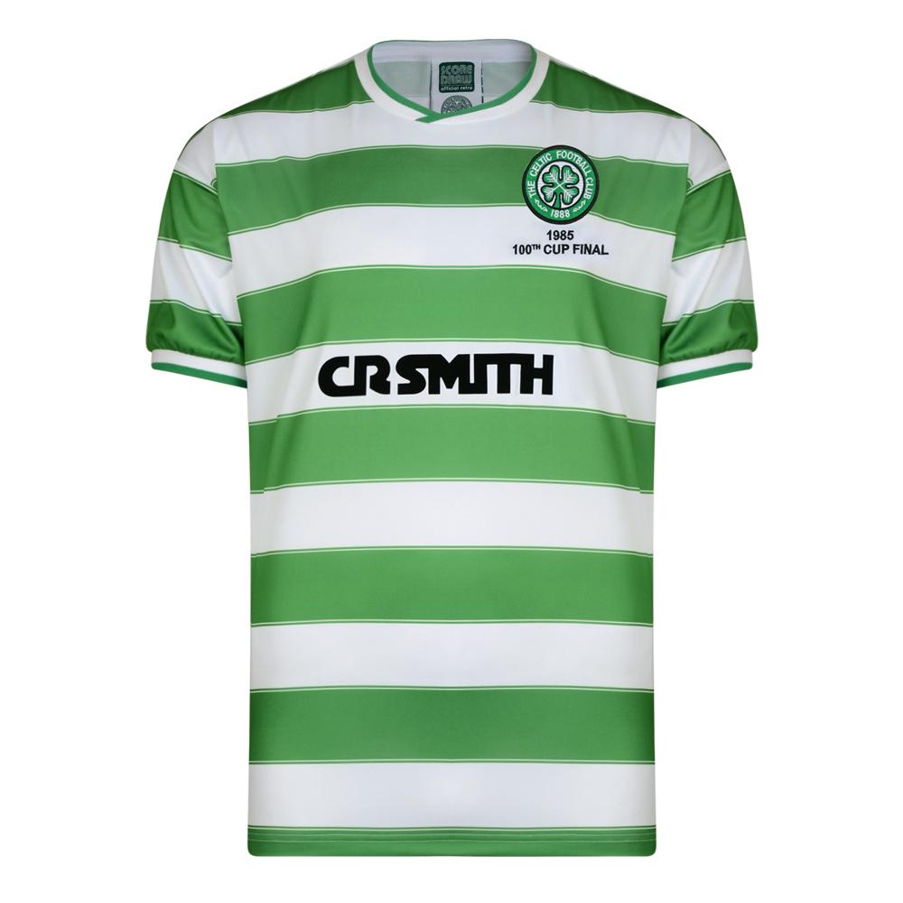 Celtic 1985 Scottish Cup Final  Retro Shirt