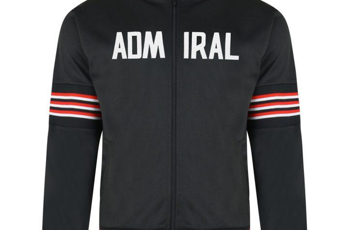 Admiral 1974 Black Club Track Jacket