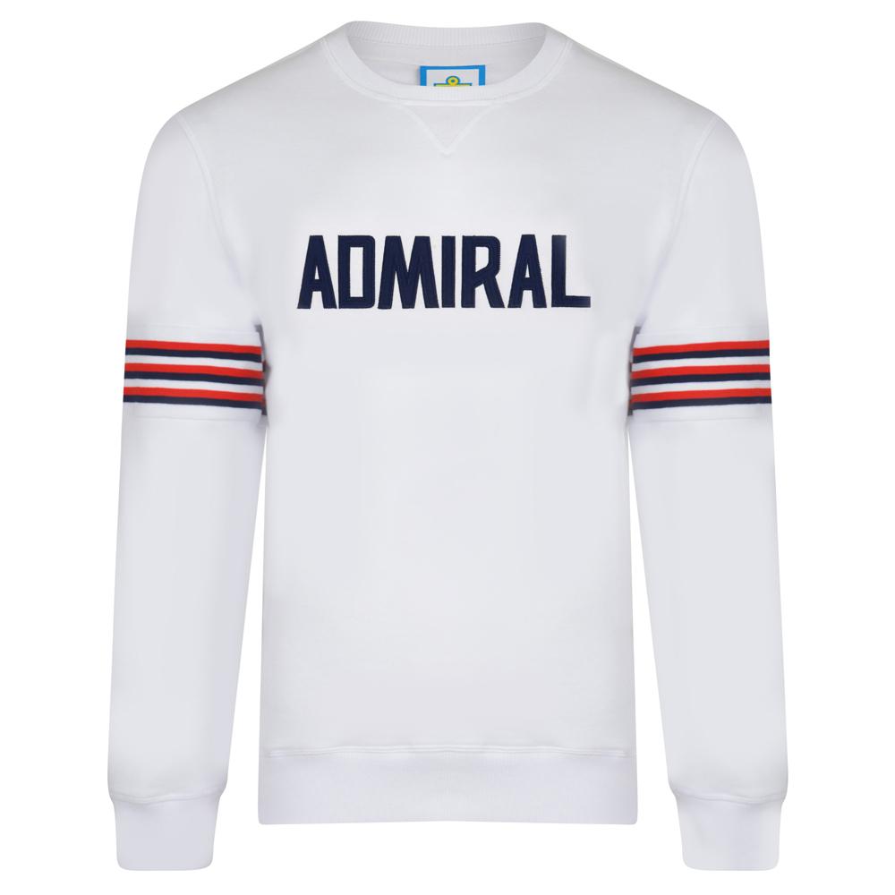 Admiral 1974 White England Sweatshirt