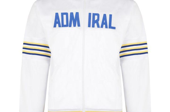 Admiral 1974 White Club Track Jacket