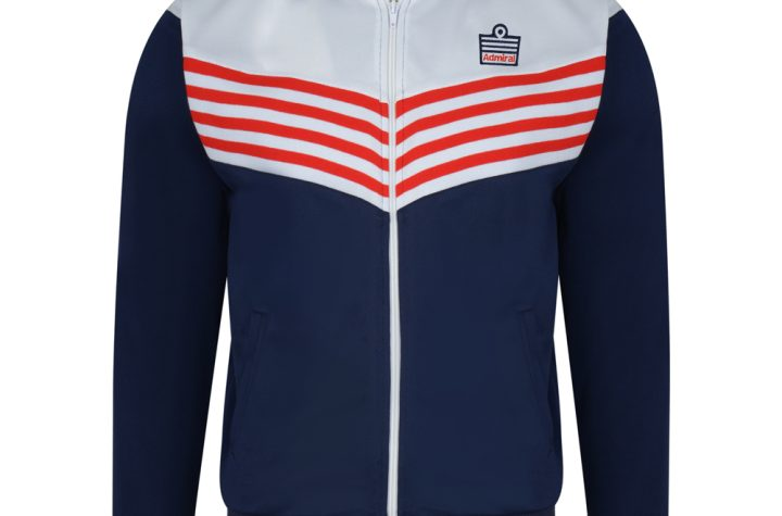 Admiral 1976 Navy England Track Jacket