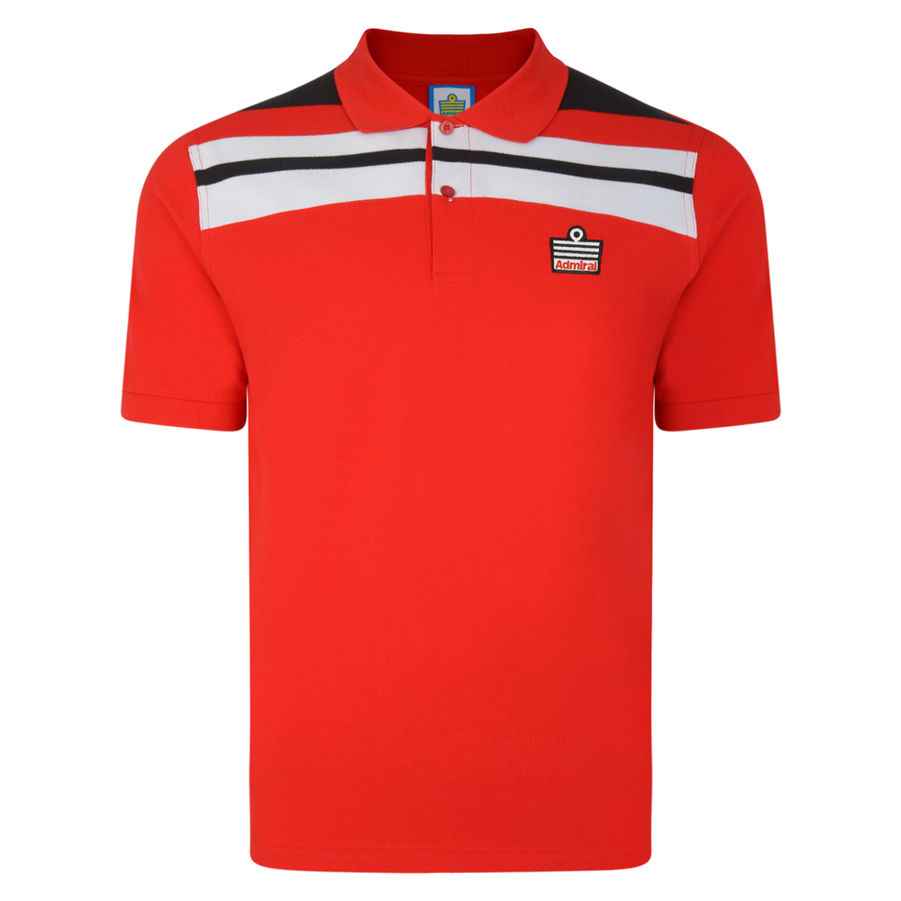 Admiral 1982 Red Club Polo