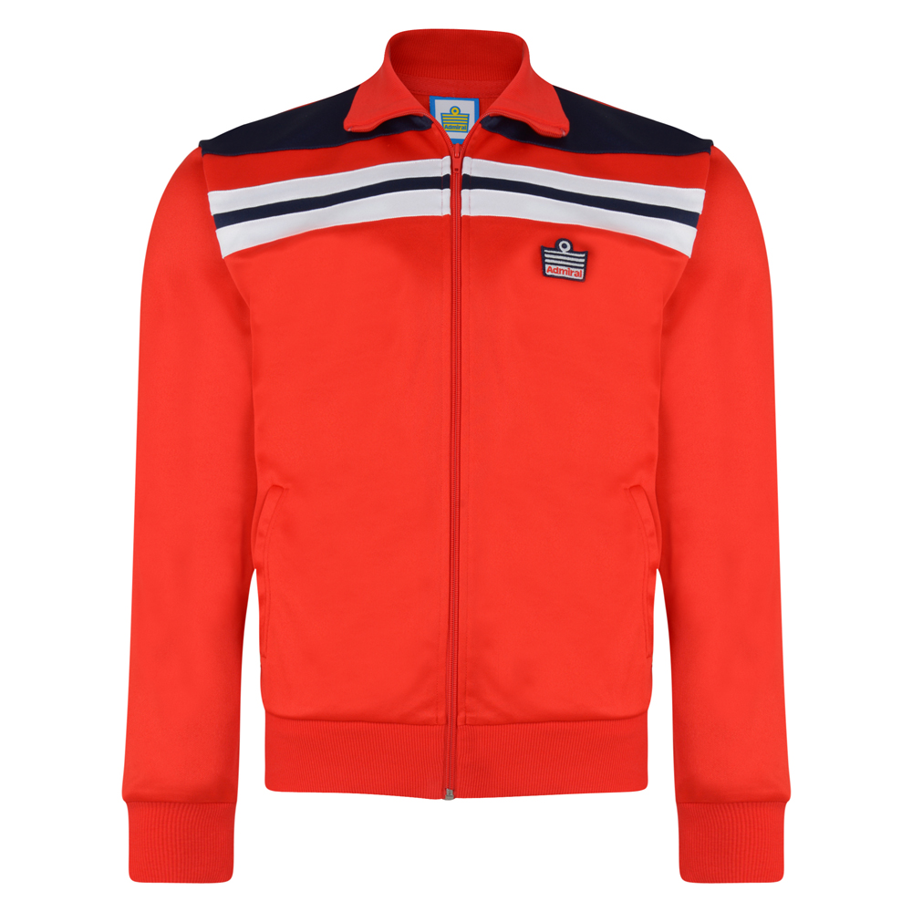 Admiral 1982 Red England Track Jacket
