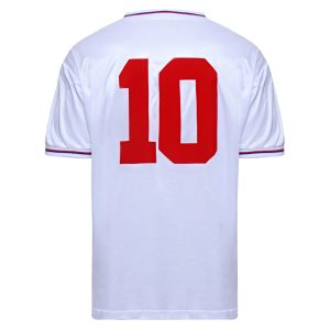 England 1982 World Cup Finals No10 shirt