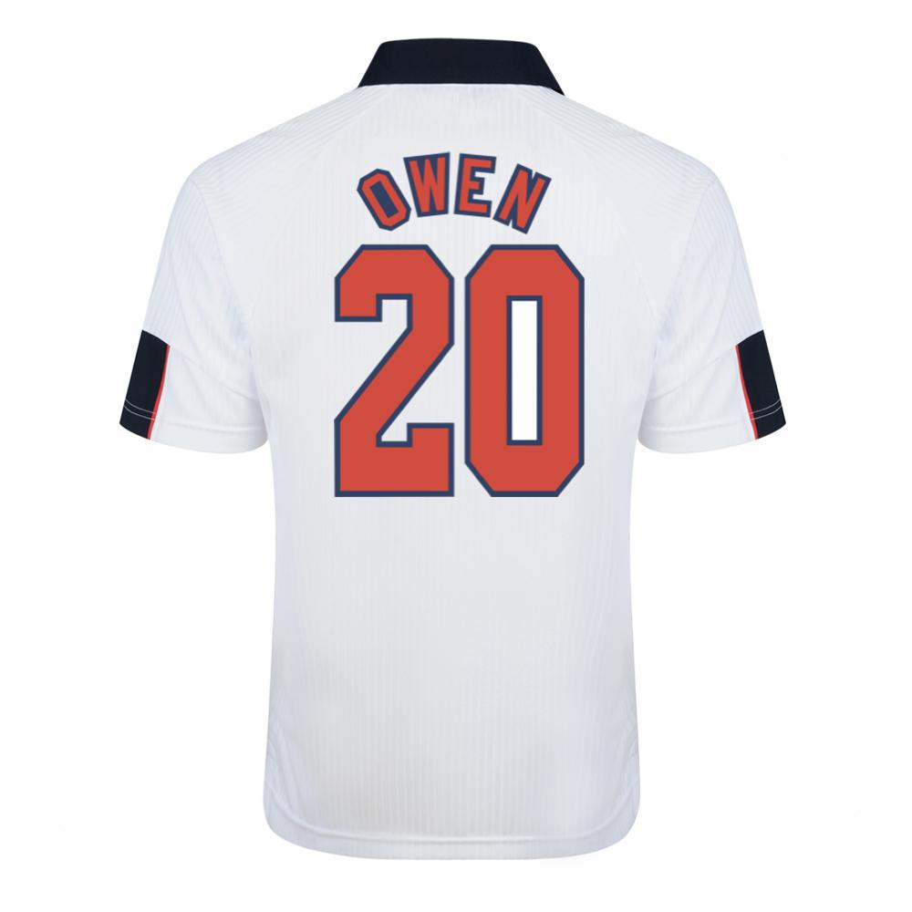 England 1998 World Cup Finals No20 Owen Shirt
