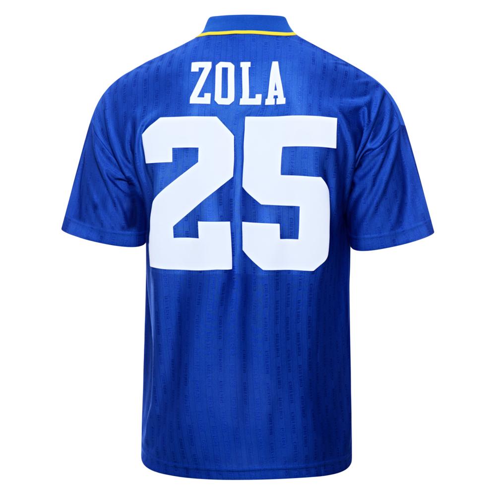 Chelsea 1997 FA Cup Final No25 Zola shirt