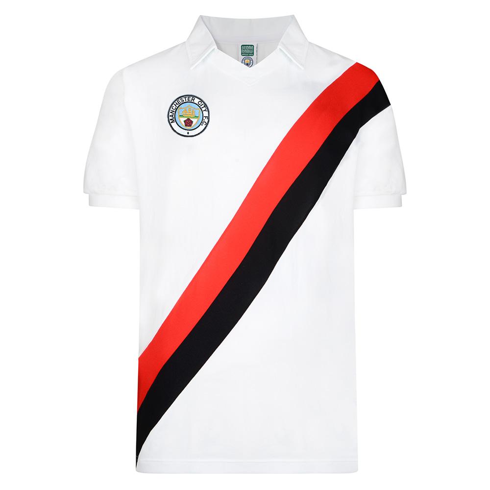 Manchester City 1978 Away Retro Football Shirt