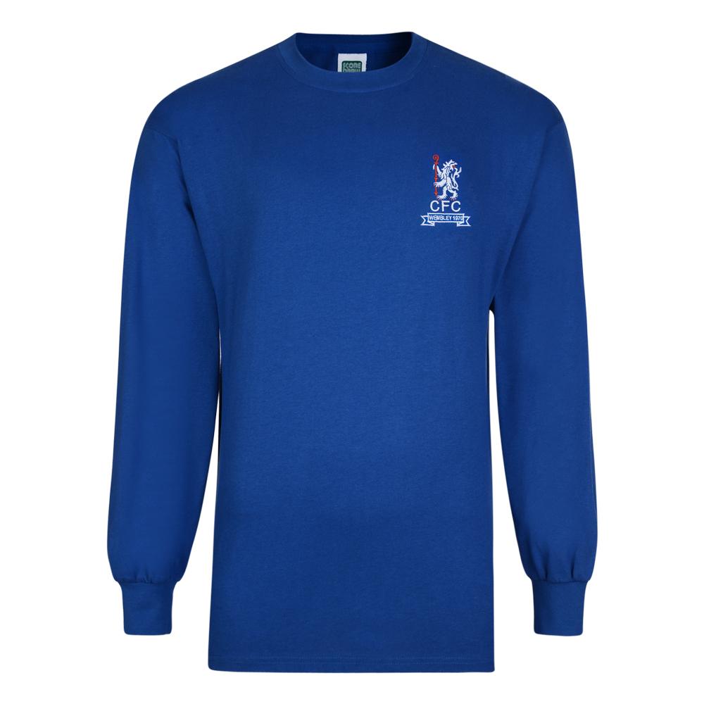 Chelsea 1970 Wembley Retro Football Shirt