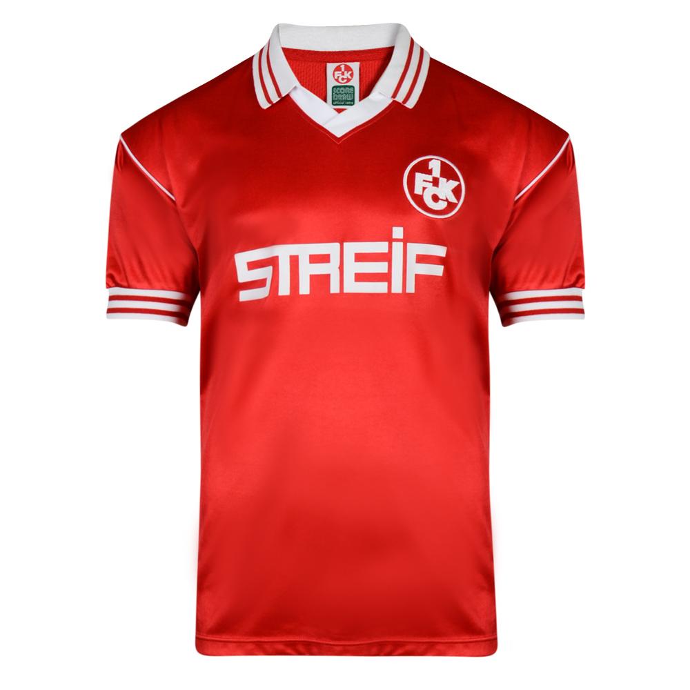 Kaiserslautern 1980 trikot Retro Football shirt