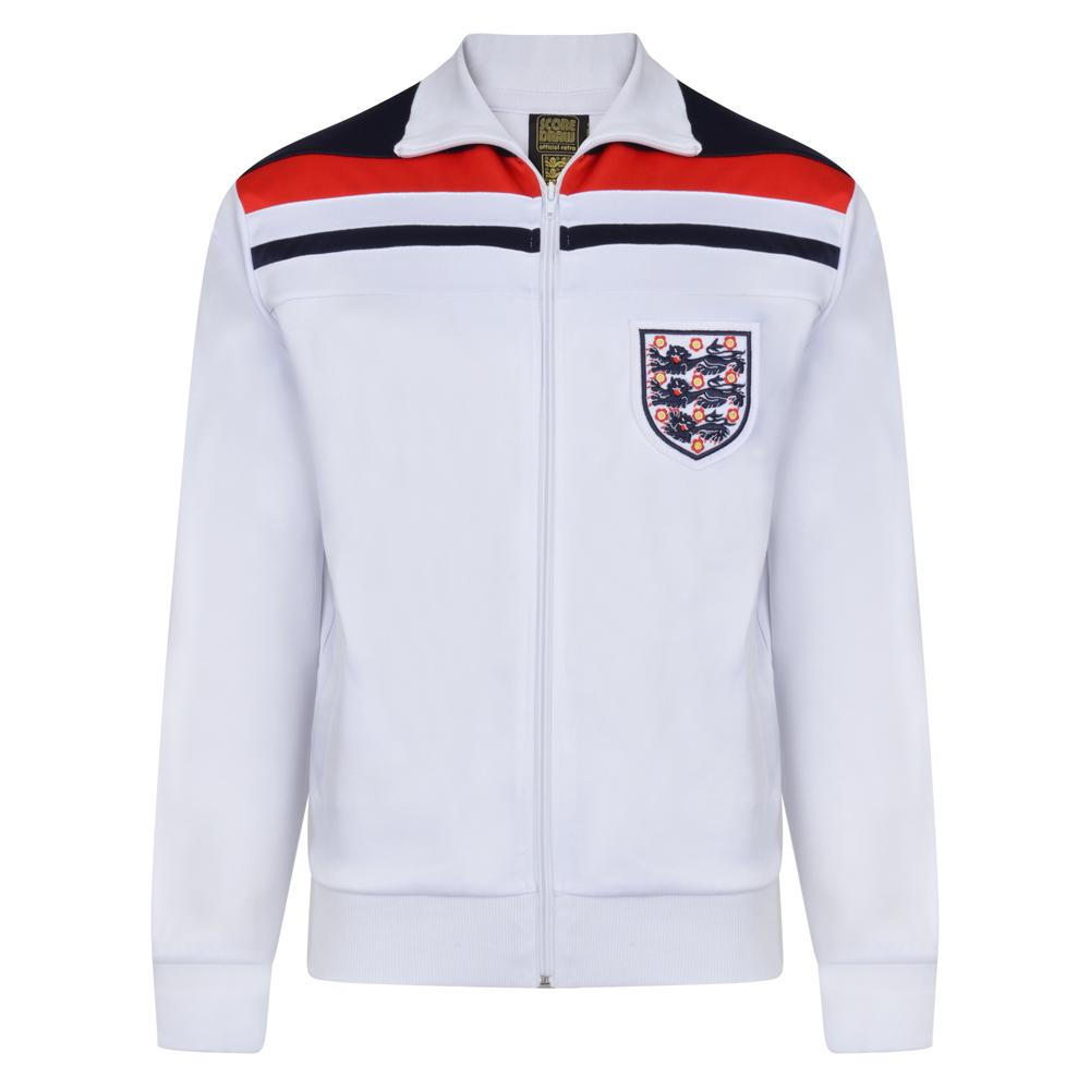 England 1982 Empire White Track Jacket