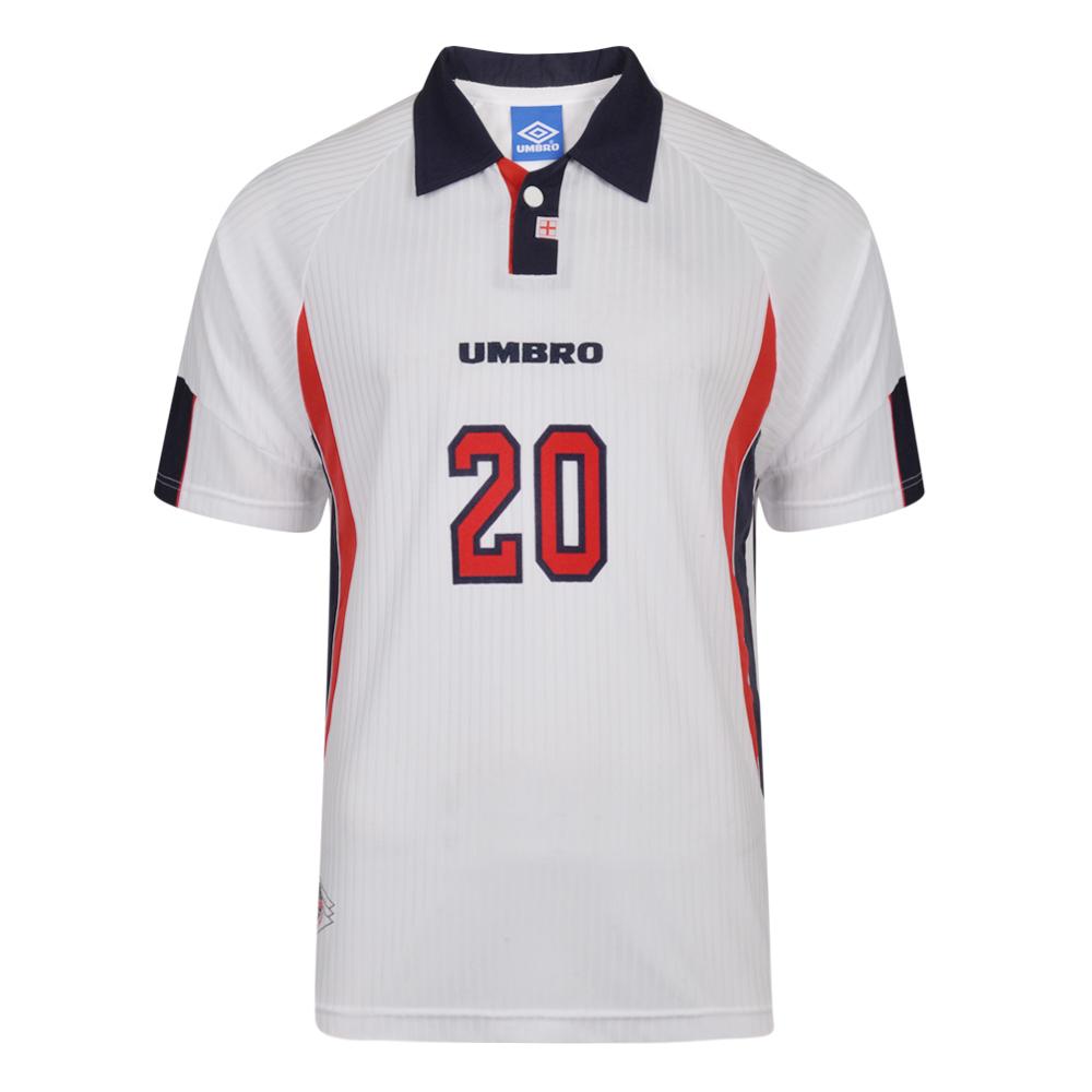 Umbro 1998 France Number 20 Football Shirt