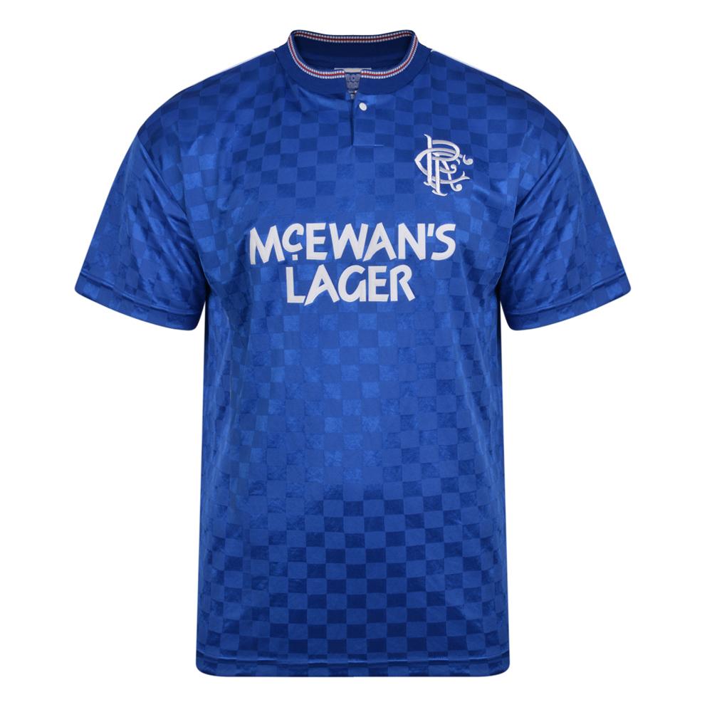 Rangers 1988 Retro Football Shirt