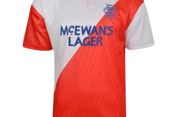 Rangers 1988 Away Retro Football Shirt