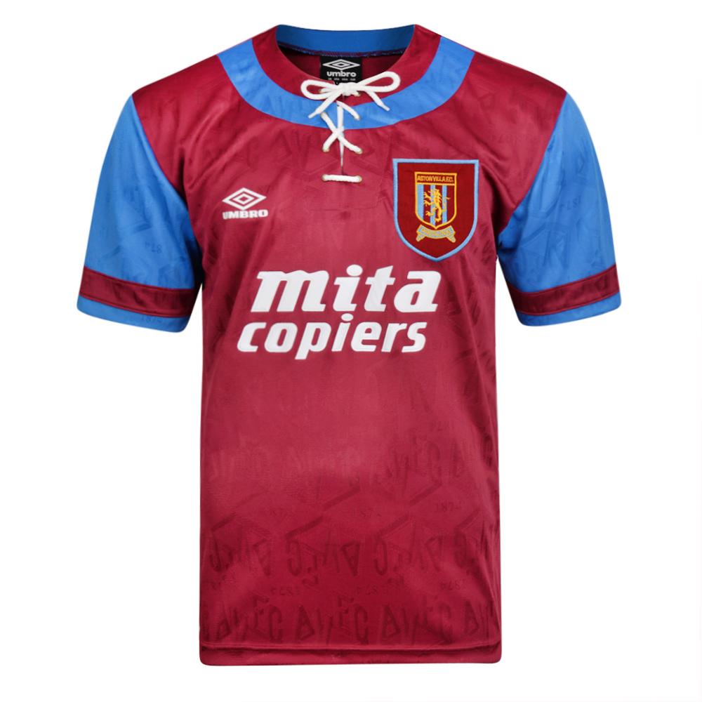 Aston Villa 1992 Umbro shirt