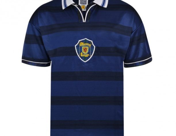 Scotland 1998 World Cup Finals Retro Shirt