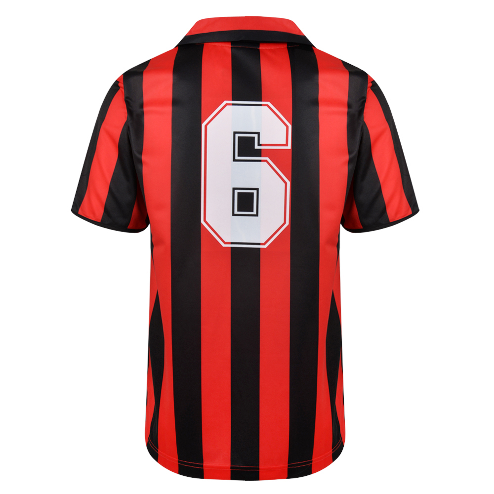AC Milan 1988 No6 Retro Football Shirt
