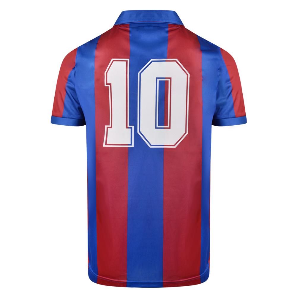 Barcelona 1982 No10 Retro Football Shirt