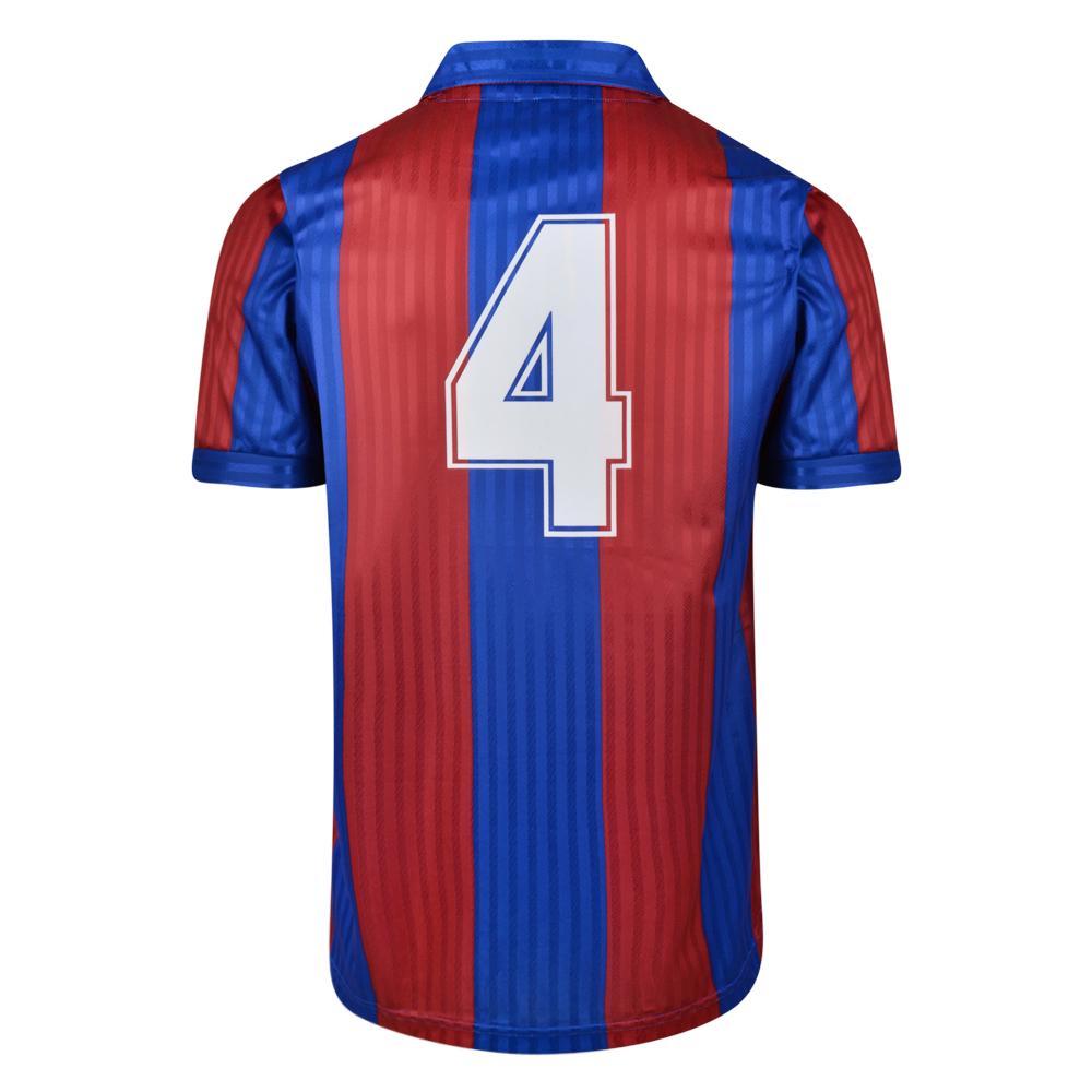 Barcelona 1992 No.4 Retro Football Shirt