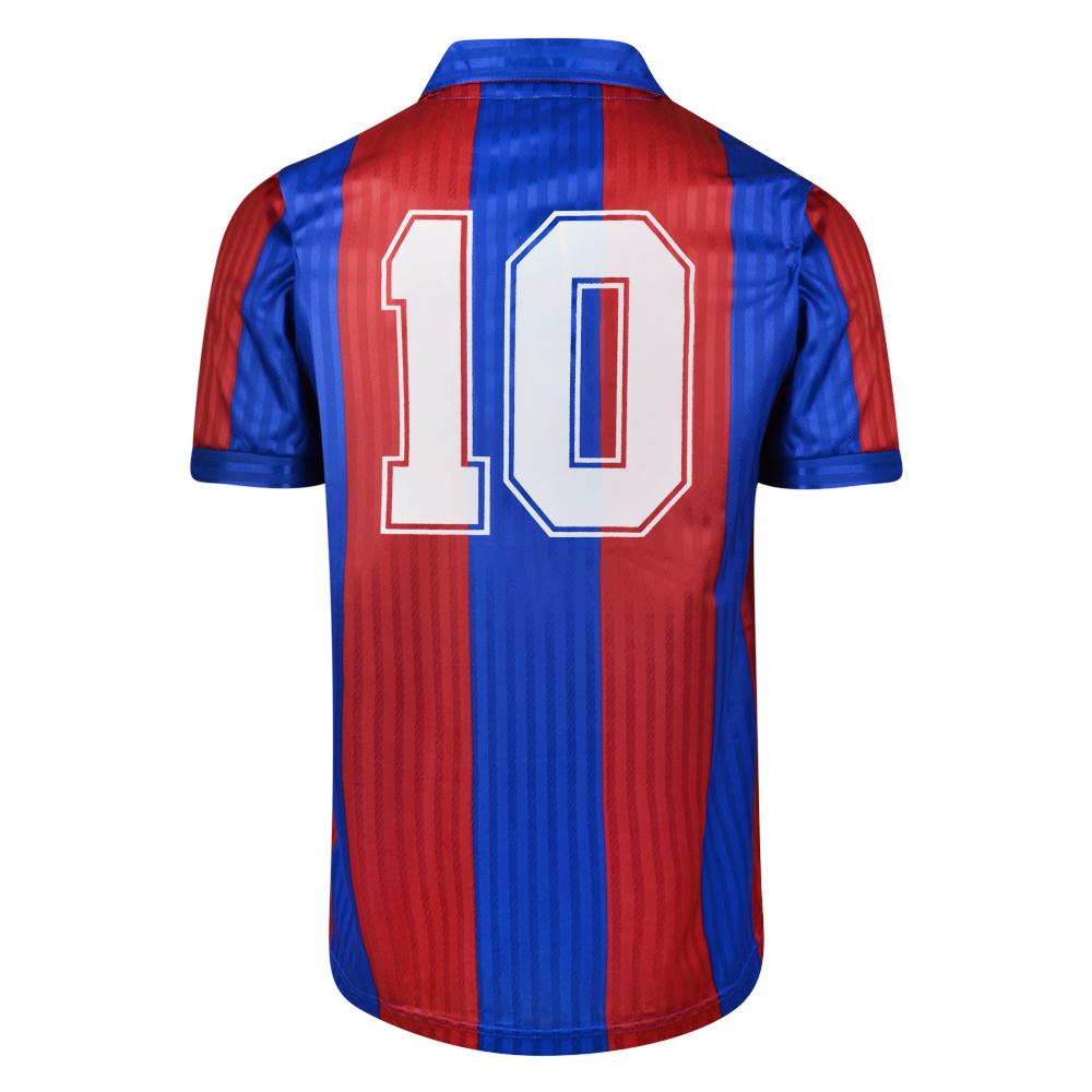 Barcelona 1992 No.10 Retro Football Shirt