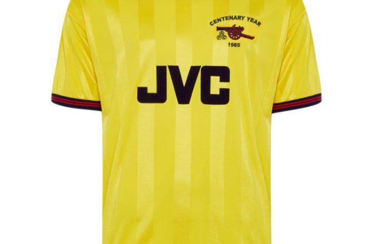 Arsenal 1985 Centenary Away shirt