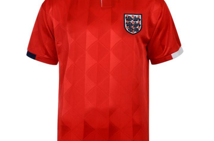 England 1989 Away Retro Football shirt