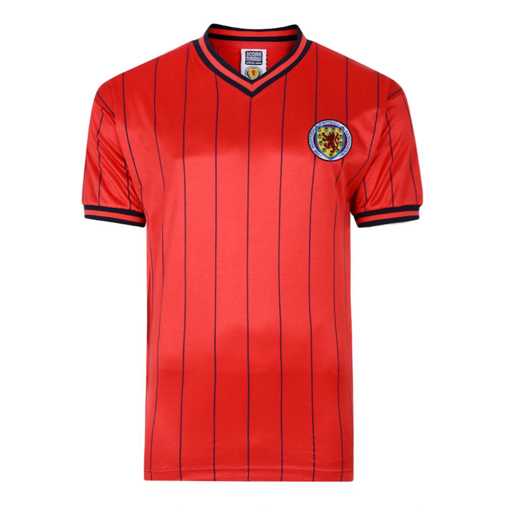 Scotland 1982 Away Retro Football Shirt