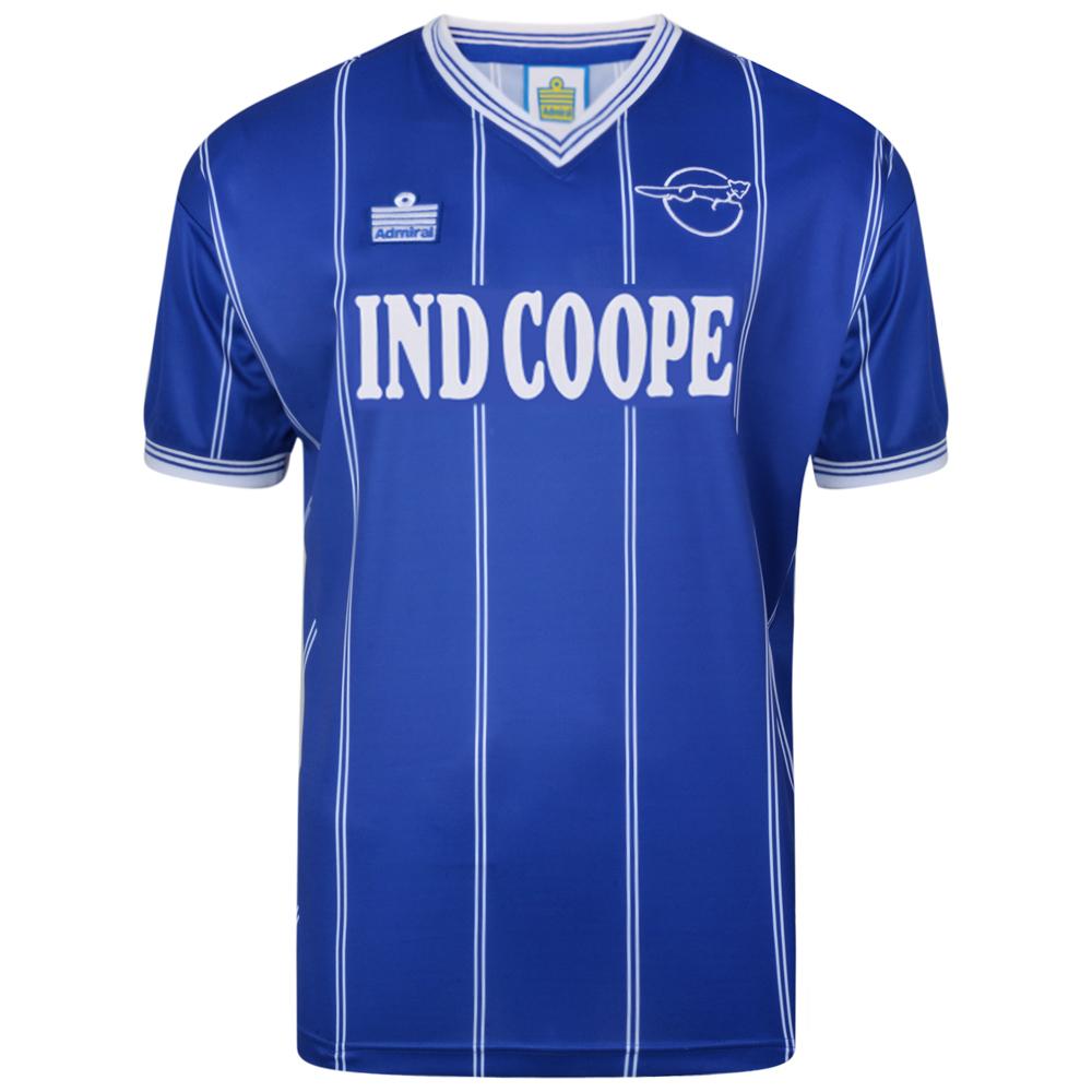 Leicester City 1984 Admiral shirt