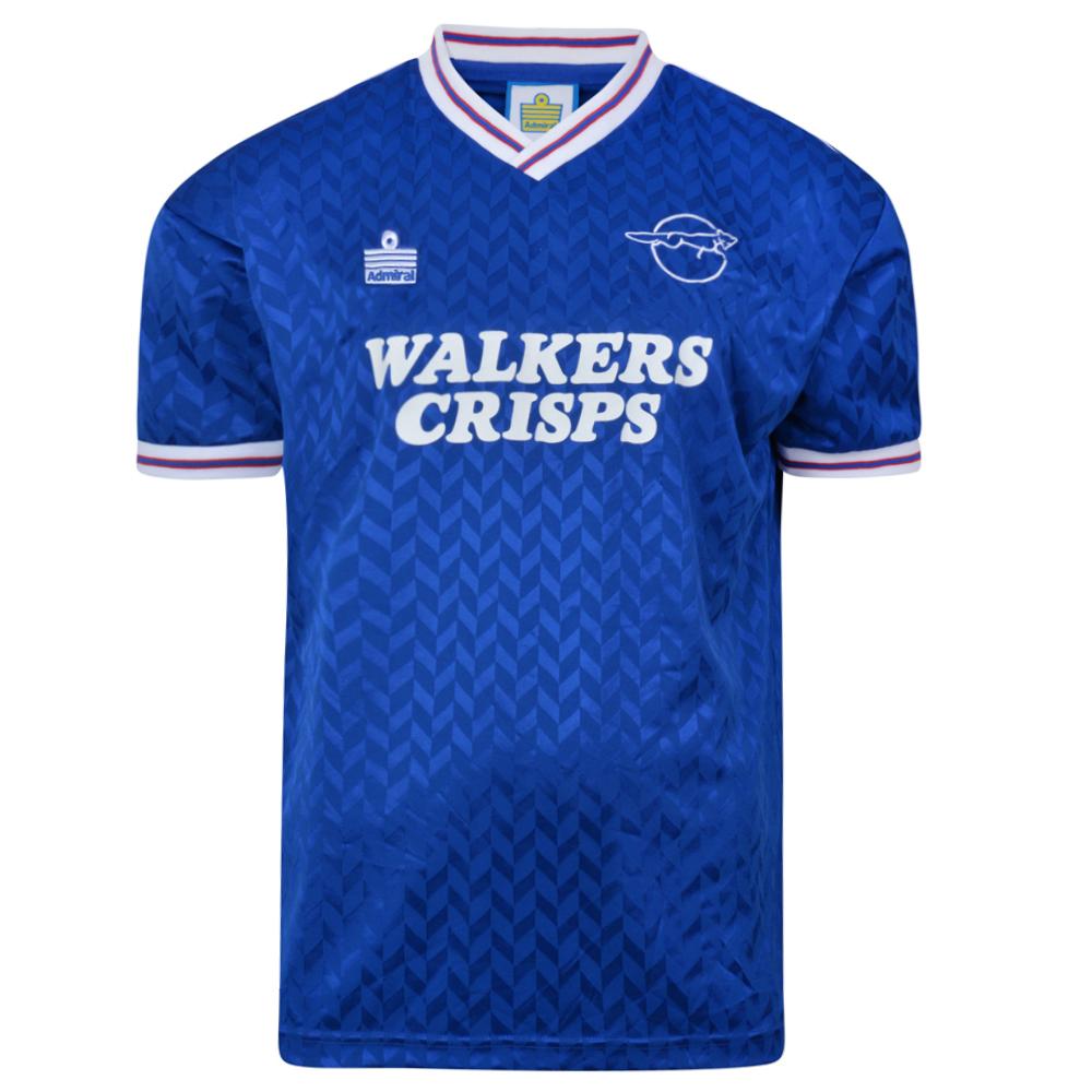 Leicester City 1987 Admiral shirt