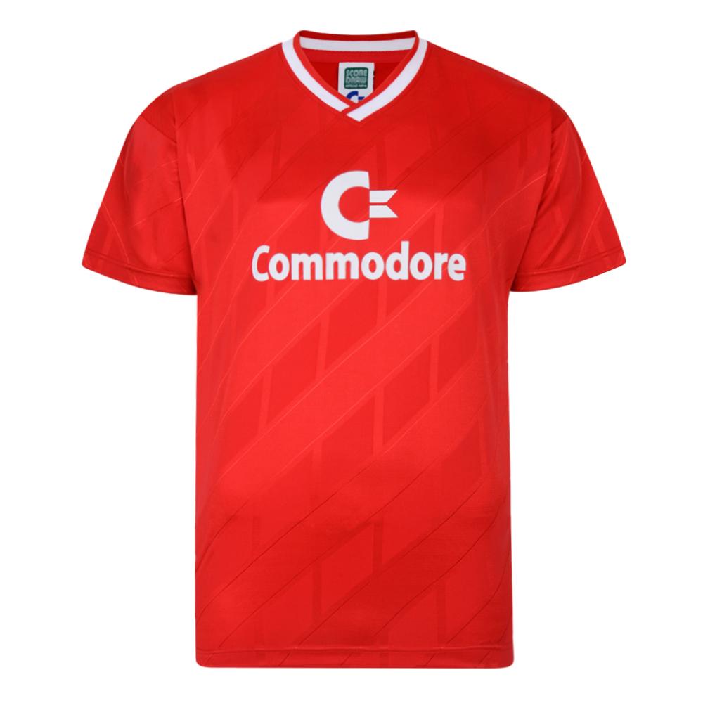 Bayern Commodore 1986 trikot Retro Football shirt