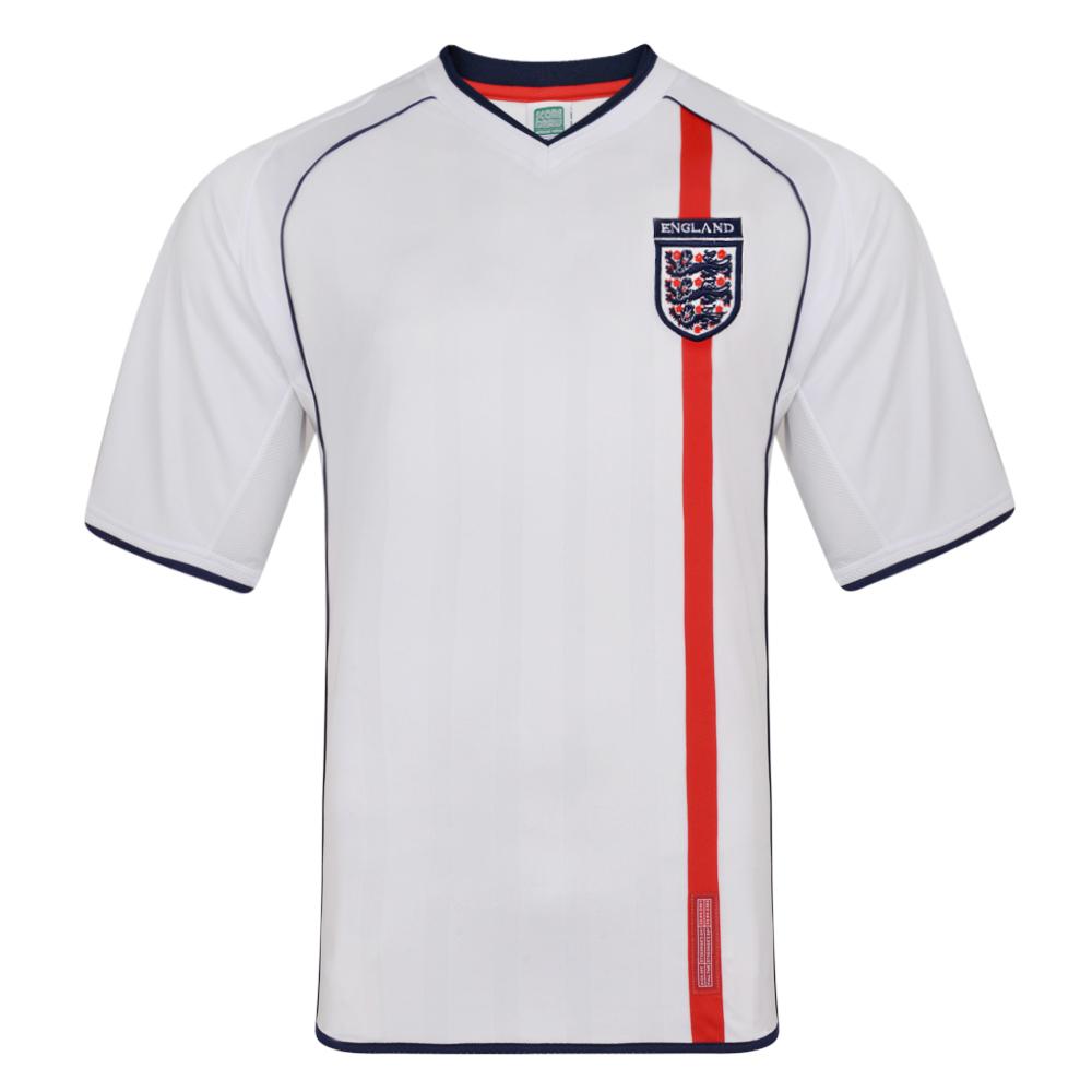 England 2002 Retro Football shirt