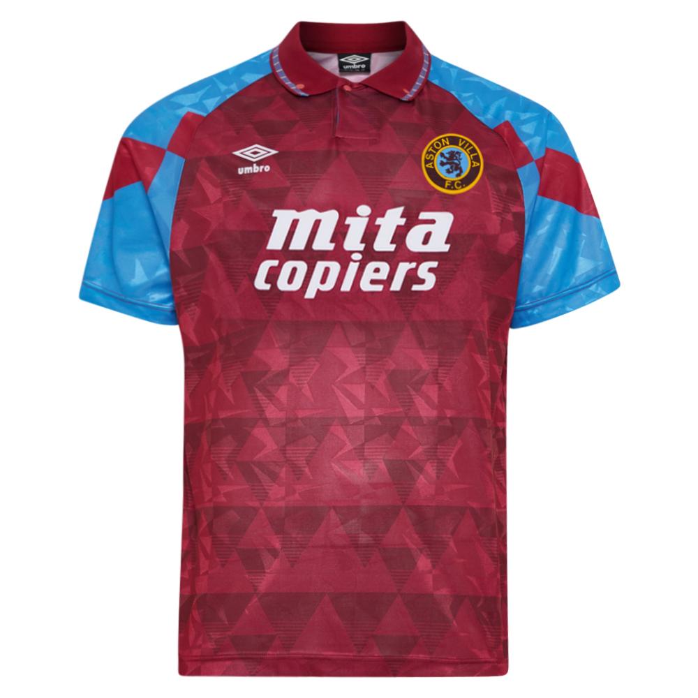 Aston Villa 1990 Umbro shirt