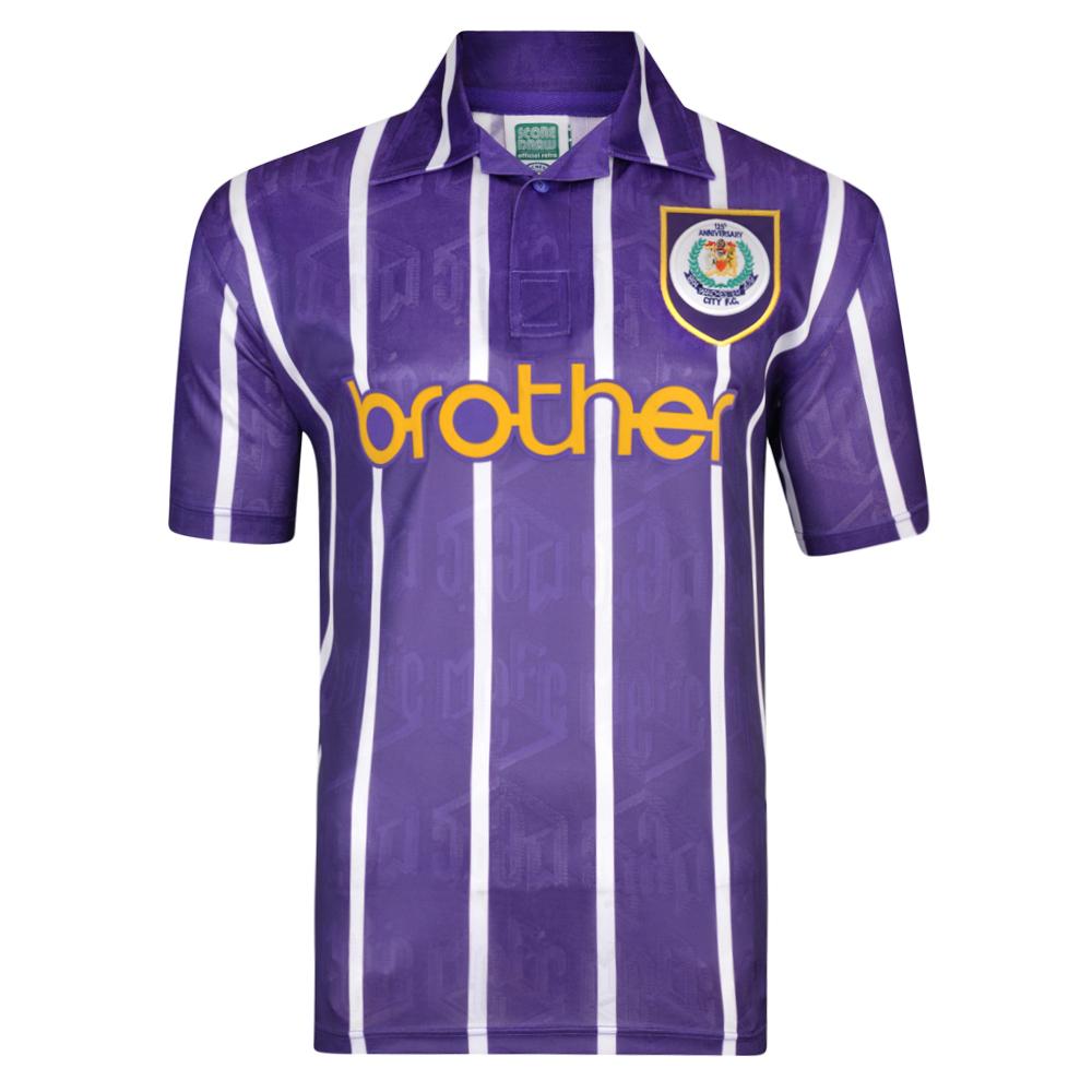 Manchester City 1994 Anniversary Third Retro Shirt