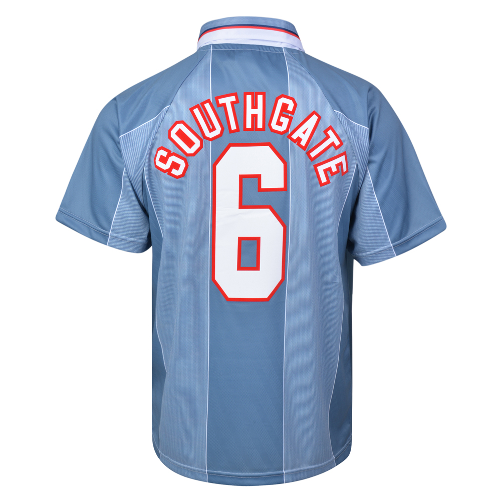 England 1996 Away No.6 Euro Championship Shirt