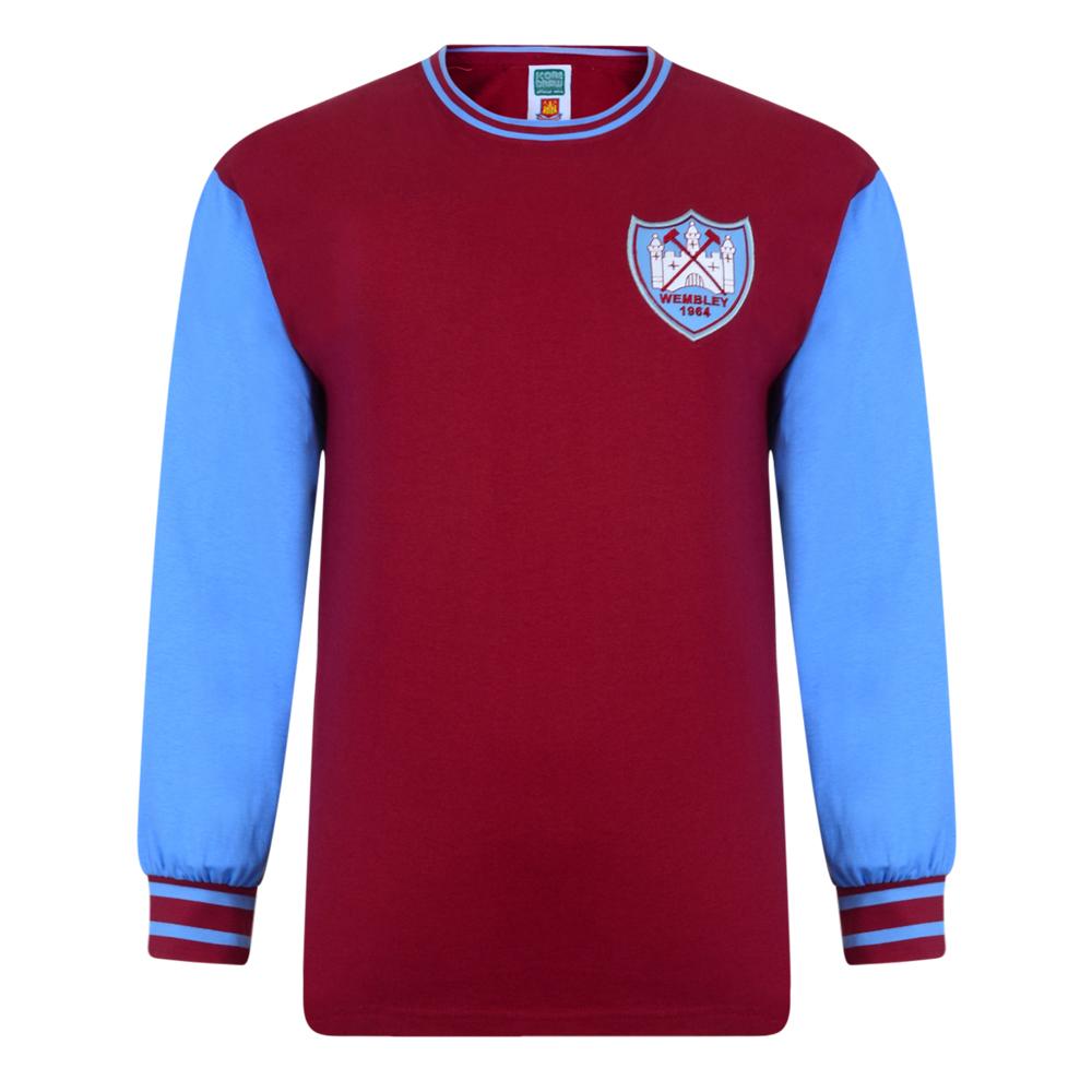 West Ham United 1964 FA Cup Final Retro Shirt