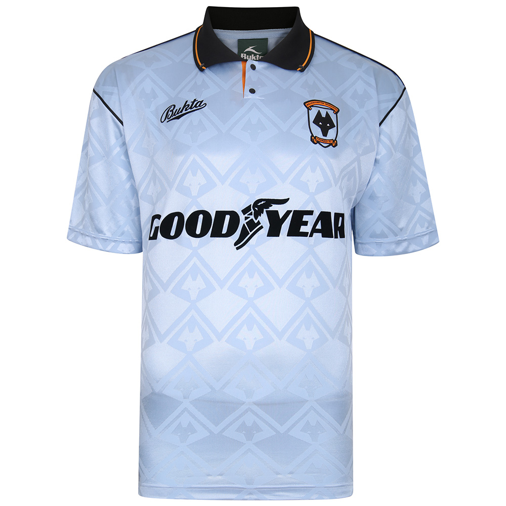 Wolverhampton Wanderers 1992 Away Bukta shirt