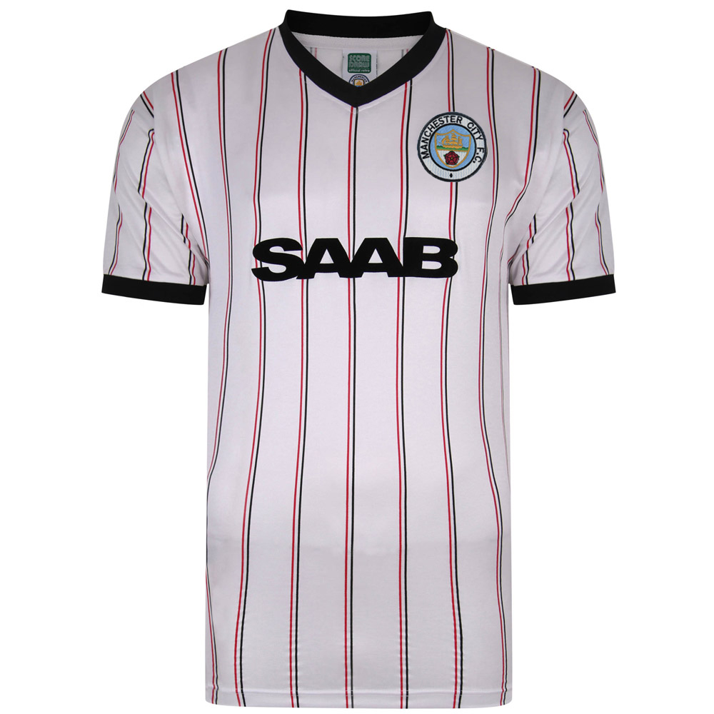 Manchester City 1982 Away Retro Football Shirt