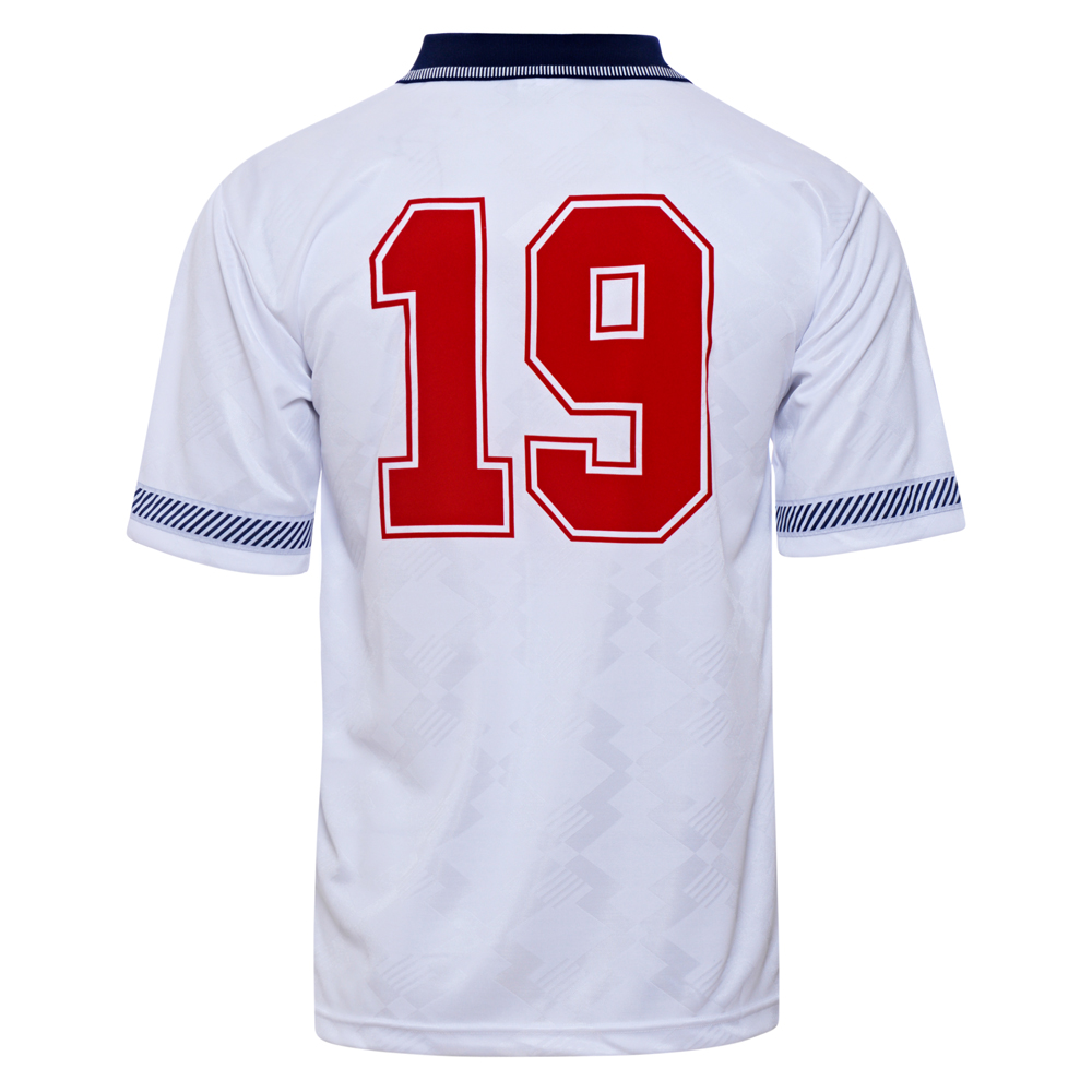 England 1990 World Cup Finals No19 Retro Shirt