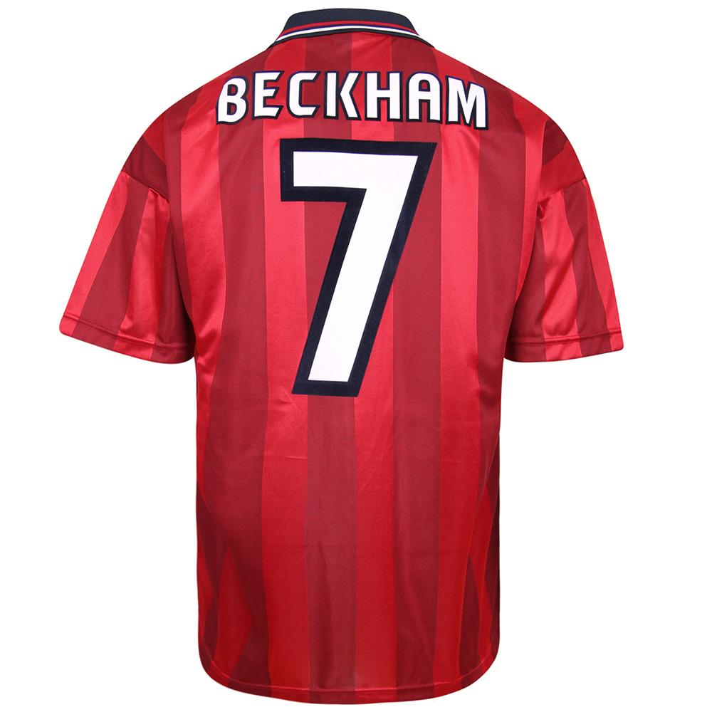 England 1998 Away World Cup Finals No7 Beckham