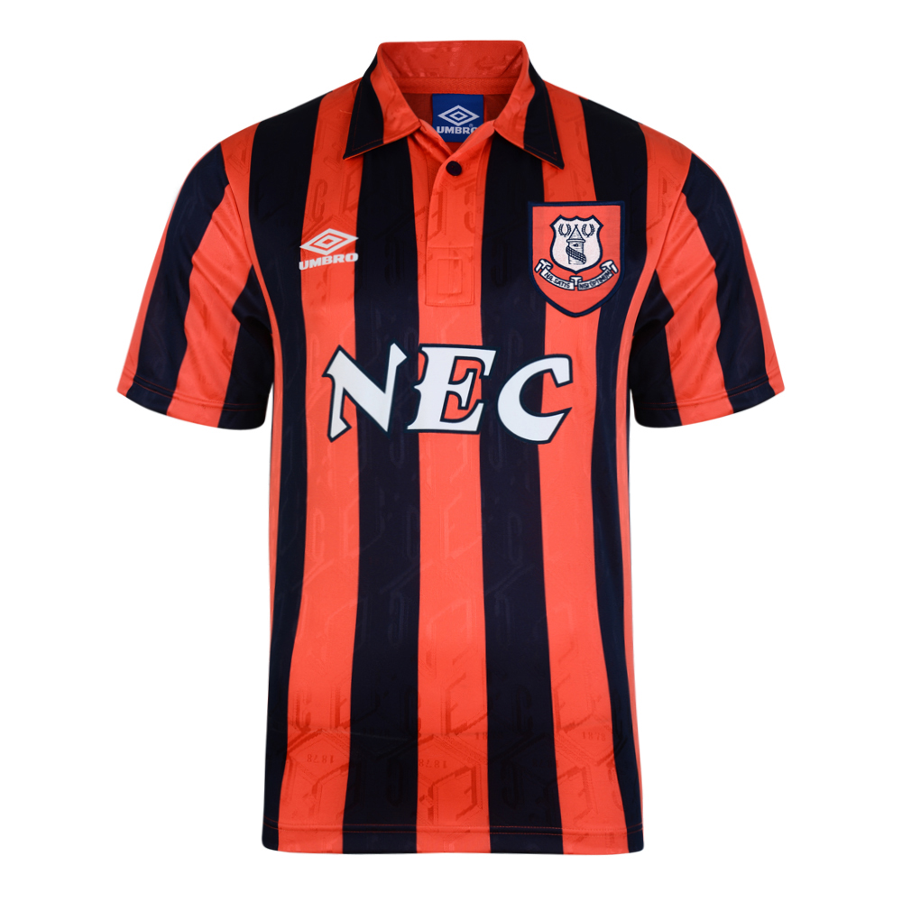 Everton 1992 Away Umbro Retro Football Shirt
