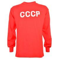 Soviet Union (CCCP) 1960s-70s Kids Retro Football Shirt