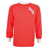 USA 1975 Kids Retro Football Shirt