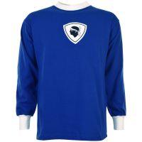 Bastia 1970s Shirt Kids Retro Football Shirt