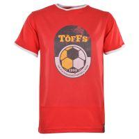TOFFS 1990 T-Shirt - Red/White Ringer