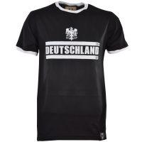 Deutschland T-Shirt - Black/White Ringer