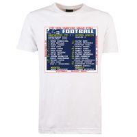 1999 Champions League Final (Man United) Retrotext T-Shirt
