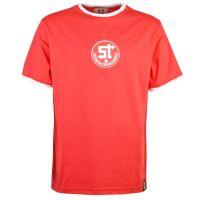 Swindon Town 12th Man T-Shirt - Red/White Ringer