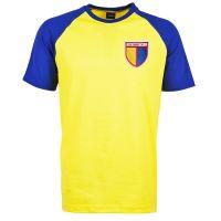 Kids Colombia Raglan Sleeve Yellow/Royal T-Shirt