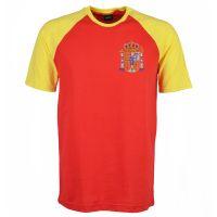 Kids Spain Raglan Sleeve Red/Yellow T-Shirt