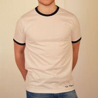 Toffs Retro White/Black Tee Shirt